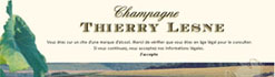 Champagne Thierry Lesne